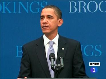 FOTO: Barack Obama, en Washington, ayerr