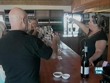"FOTO: Cata de vino ""kosher""."