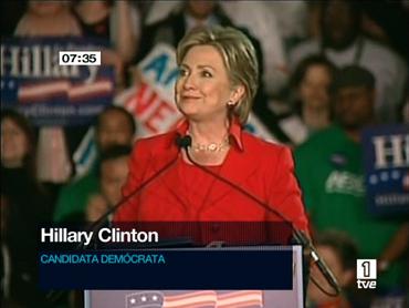 FOTO: Hillary Clinton, en Columbus (Ohio), ayer