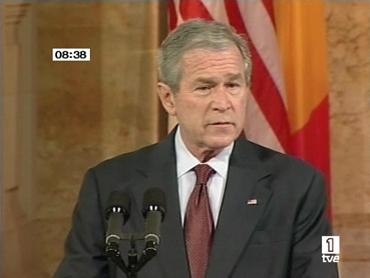 FOTO: George W. Bush durante la Cumbre
