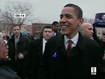 FOTO: Un sonriente Barack Obama, ayer