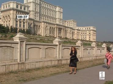 FOTO: Palacio del Pueblo Rumano de Bucarest